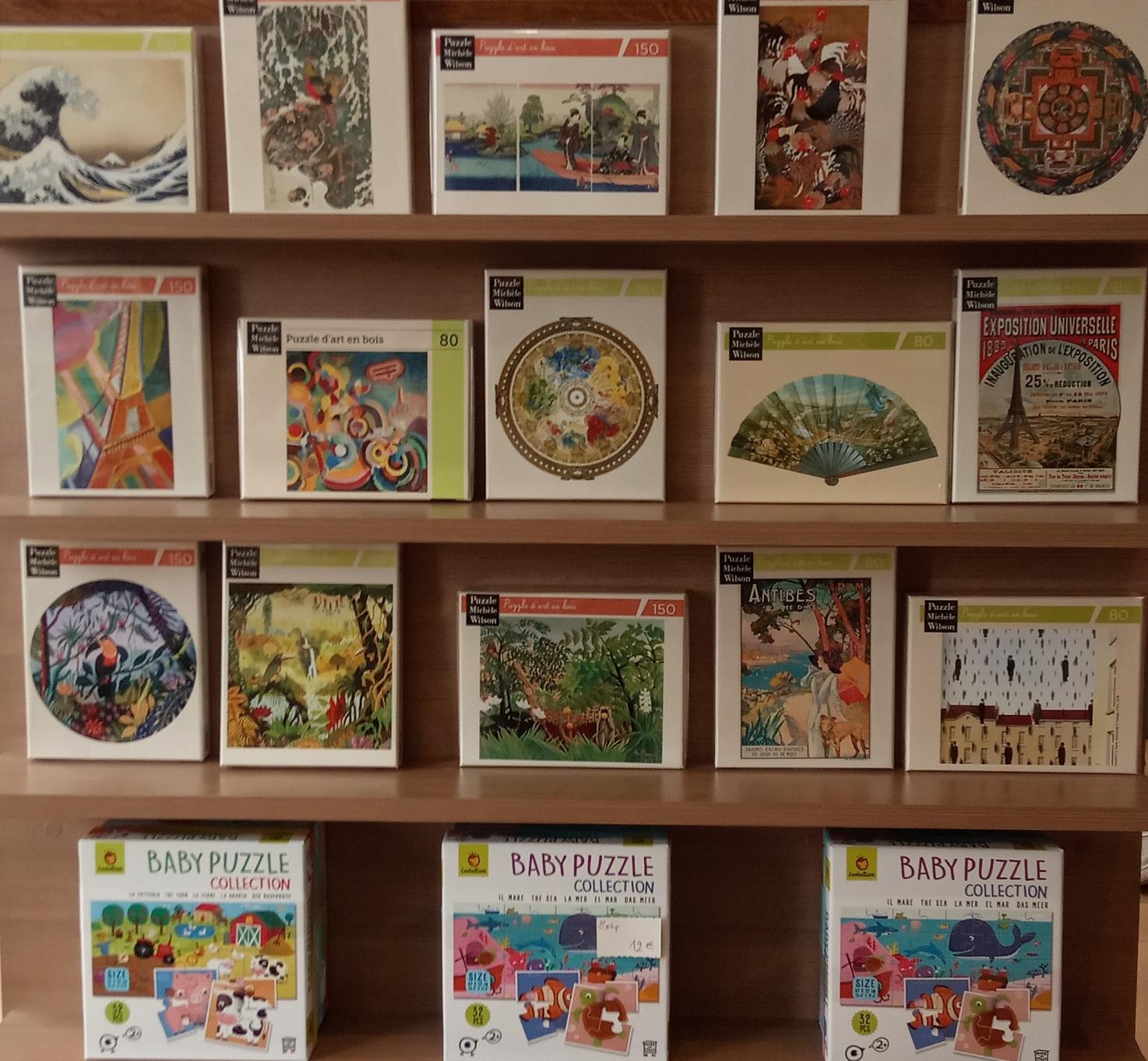 Une vaste gamme de puzzle Michèle Wilson