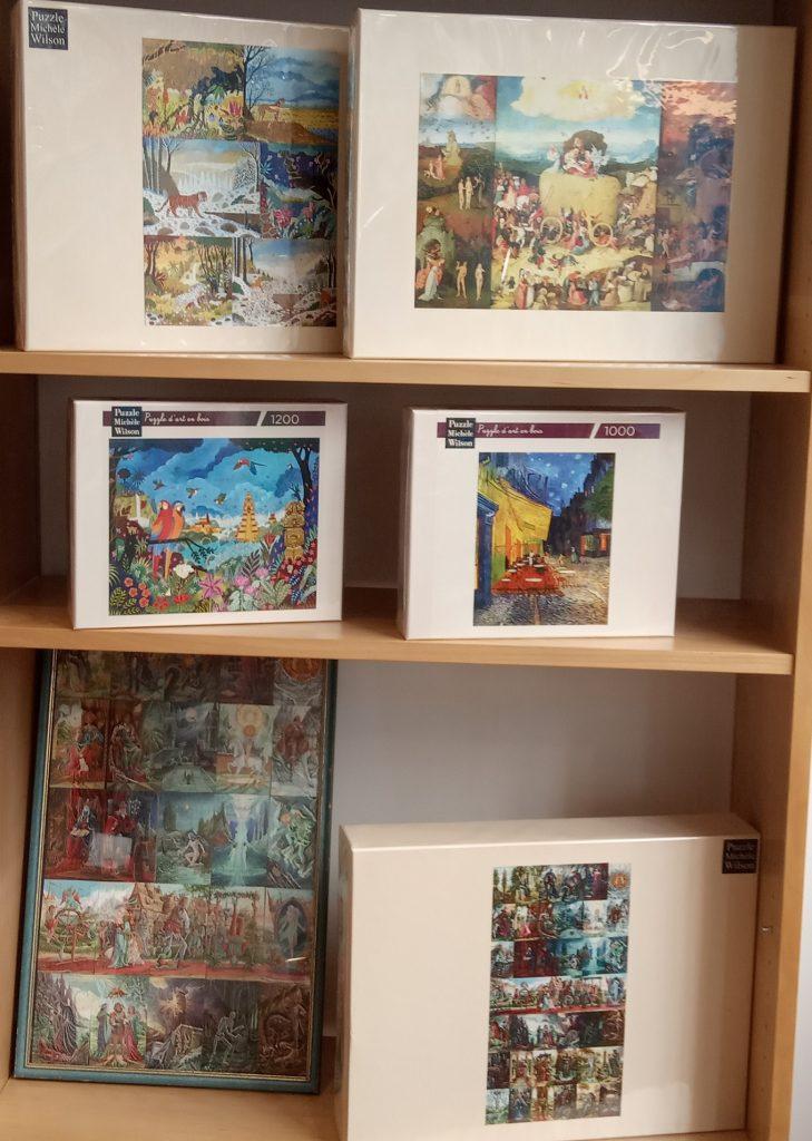 Un vaste choix de puzzles Michèle Wilson