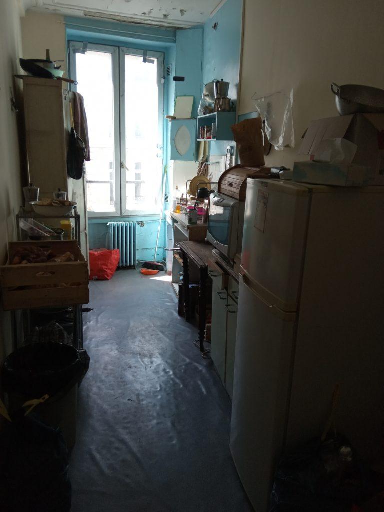 La cuisine du studio loué 353€