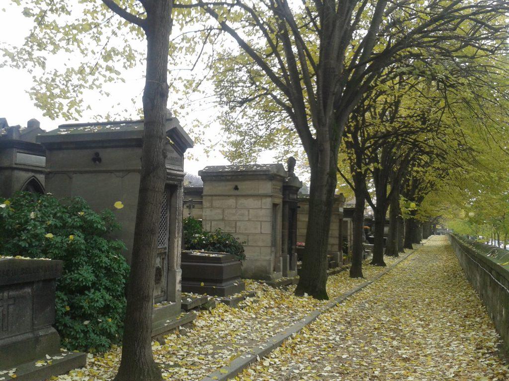 L'atmosphère si particulière du cimetière du Père Lachaise