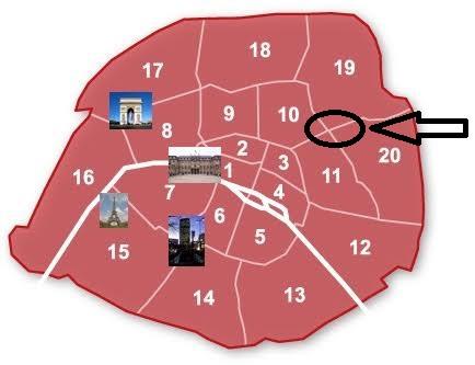 Plan de la visite Belleville Alternatives