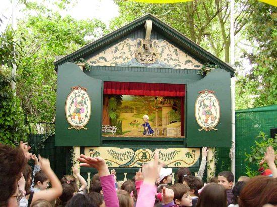 Le théâtre Guignol Anatole au Parc des Buttes-Chaumont