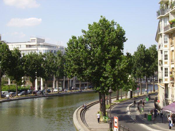 Un quartier qui s'enroule autour du canal