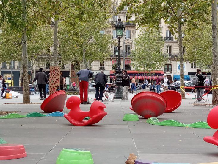 Les places publiques redeviennent un terrain de jeu !