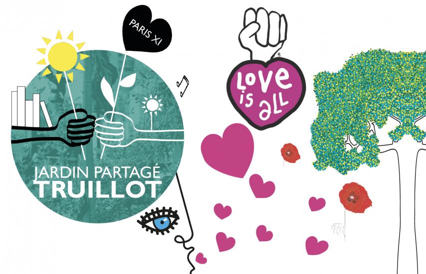 Love jardin ! Superbe graphisme de l'artiste Arysque... Une fois de plus !!!
